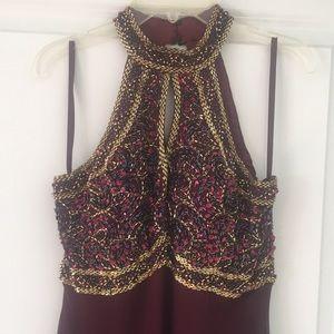 ALYCE DESIGNS - Elegant Beaded Dress Size 8